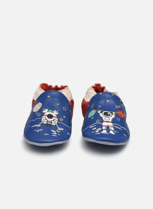 Chaussons Robeez Mister Spaceman Bleu vue portées chaussures