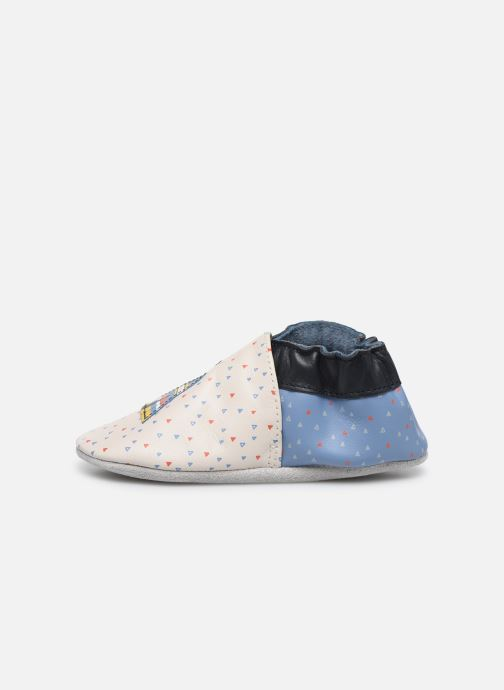 Chaussons Robeez Tipi Beige vue face