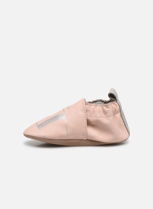 Chaussons Robeez Jemenfish Rose vue face