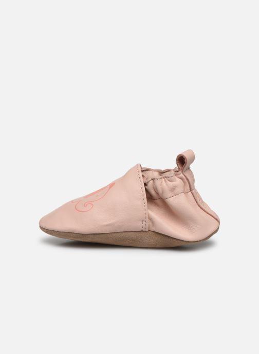 Pantofole Robeez Fantile Rosa immagine frontale