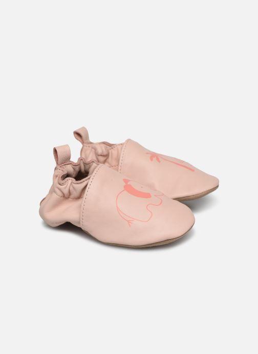 Hausschuhe Robeez Fantile rosa detaillierte ansicht/modell