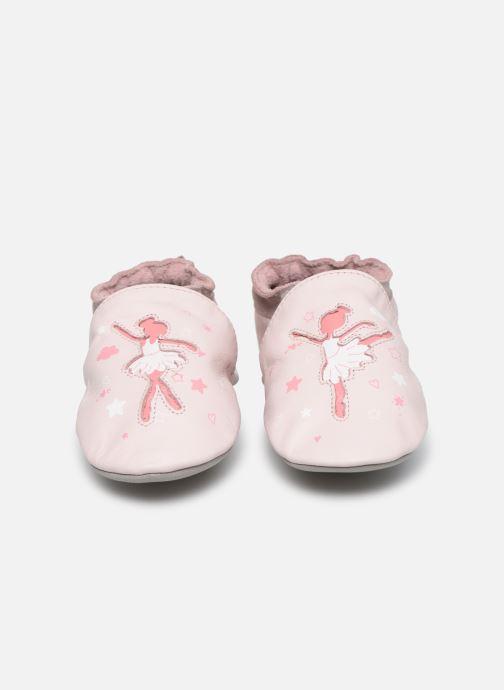 Chaussons Robeez Dance Dream Rose vue portées chaussures