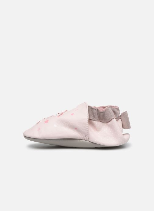 Pantofole Robeez Dance Dream Rosa immagine frontale