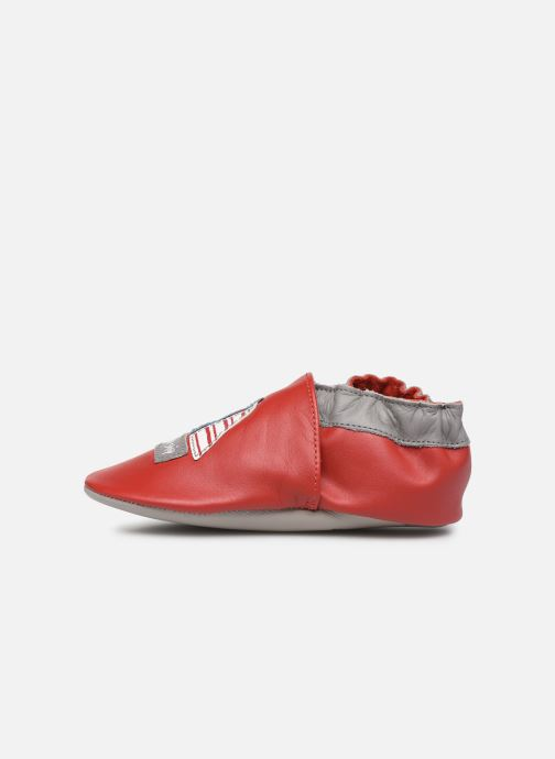 Chaussons Robeez Pirate Ship Rouge vue face