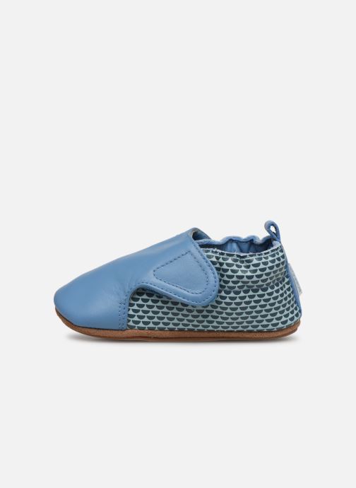 Pantofole Robeez Kalipso Azzurro immagine frontale