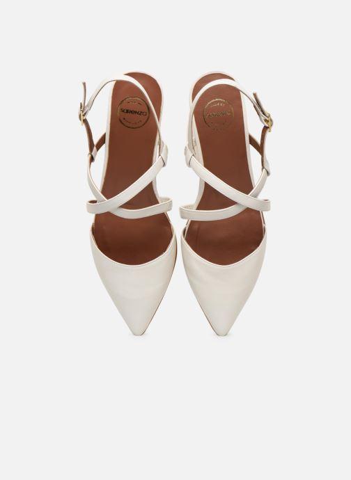 Bailarinas Made by SARENZA Africa Vibes Ballerines #1 Blanco vista del modelo