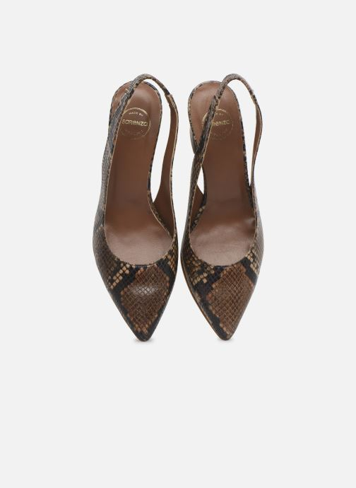 Escarpins Made by SARENZA Africa Vibes Escarpin #2 Marron vue portées chaussures