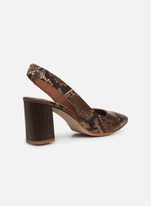 Zapatos de tacón Made by SARENZA Africa Vibes Escarpin #2 Marrón vista de frente