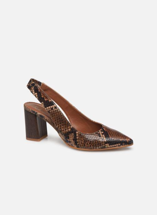 Zapatos de tacón Made by SARENZA Africa Vibes Escarpin #2 Marrón vista lateral derecha