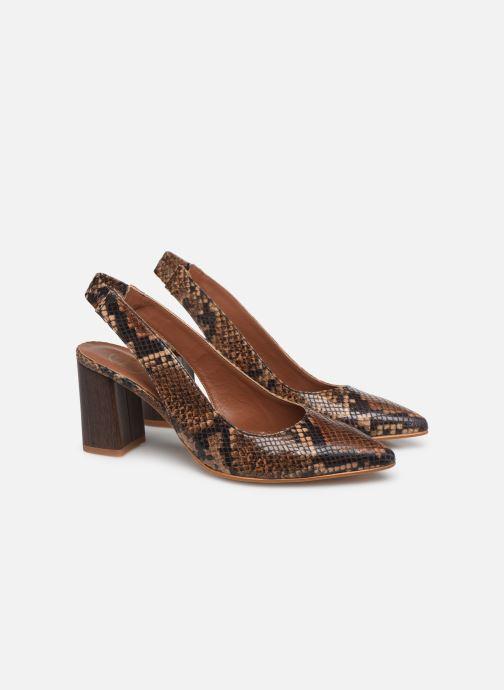 Zapatos de tacón Made by SARENZA Africa Vibes Escarpin #2 Marrón vistra trasera