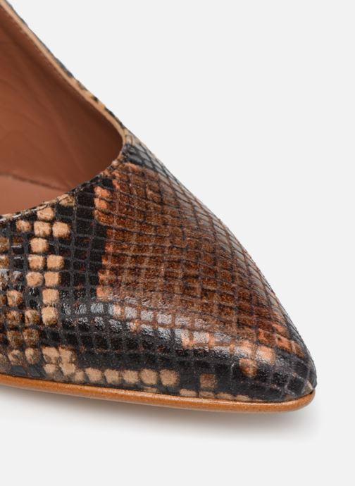 Escarpins Made by SARENZA Africa Vibes Escarpin #2 Marron vue gauche