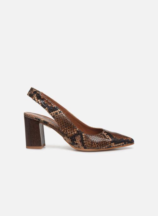 Zapatos de tacón Made by SARENZA Africa Vibes Escarpin #2 Marrón vista de detalle / par