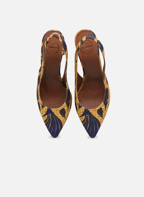Zapatos de tacón Made by SARENZA Africa Vibes Escarpin #2 Amarillo vista del modelo