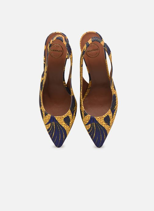 Escarpins Made by SARENZA Africa Vibes Escarpin #2 Jaune vue portées chaussures