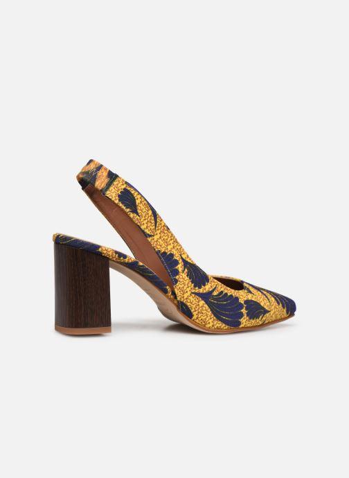 Zapatos de tacón Made by SARENZA Africa Vibes Escarpin #2 Amarillo vista de frente