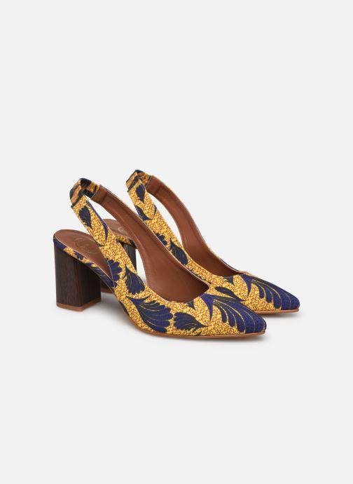 Zapatos de tacón Made by SARENZA Africa Vibes Escarpin #2 Amarillo vistra trasera