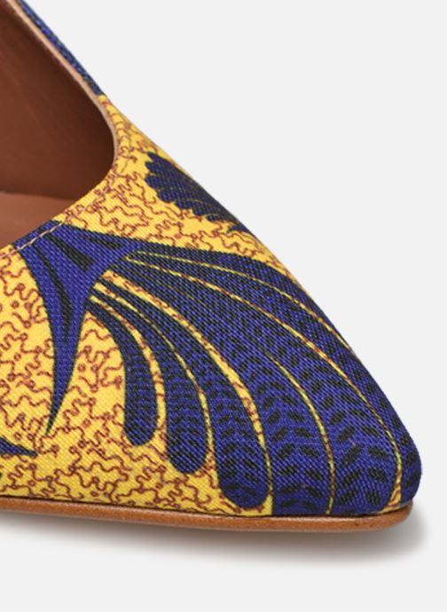 Zapatos de tacón Made by SARENZA Africa Vibes Escarpin #2 Amarillo vista lateral izquierda