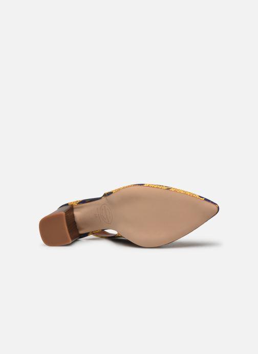 Zapatos de tacón Made by SARENZA Africa Vibes Escarpin #2 Amarillo vista de arriba