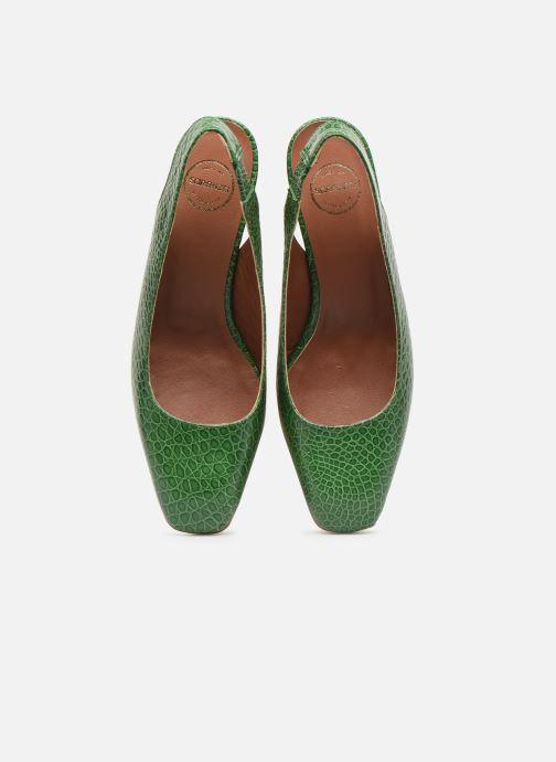 Zapatos de tacón Made by SARENZA South Village Escarpin #3 Verde vista del modelo