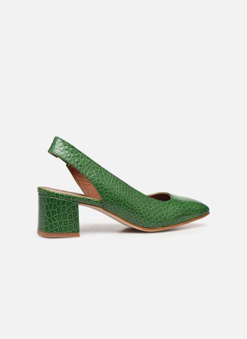 Zapatos de tacón Made by SARENZA South Village Escarpin #3 Verde vista de frente
