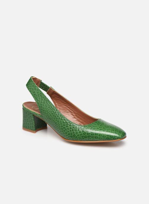 Zapatos de tacón Made by SARENZA South Village Escarpin #3 Verde vista lateral derecha