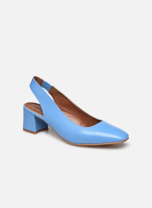 Zapatos de tacón Made by SARENZA South Village Escarpin #3 Azul vista lateral derecha