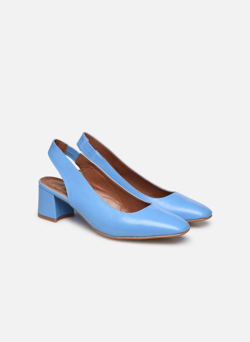 Zapatos de tacón Made by SARENZA South Village Escarpin #3 Azul vistra trasera