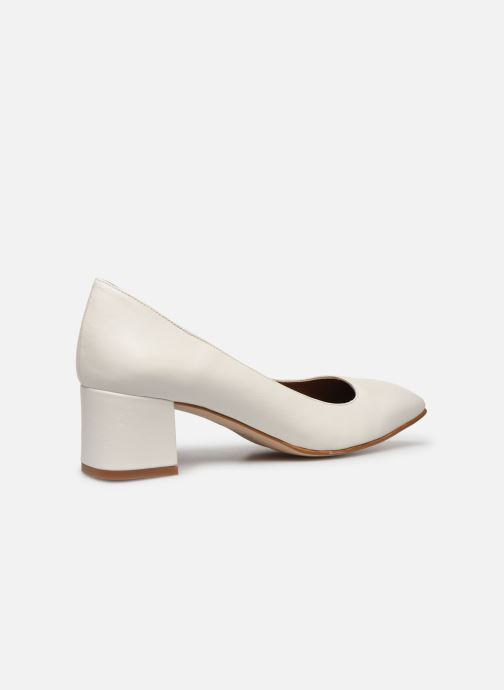 Zapatos de tacón Made by SARENZA South Village Escarpin #4 Blanco vista de frente