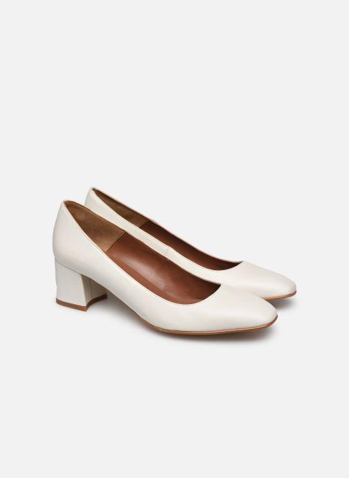 Høje hæle Made by SARENZA South Village Escarpin #4 Hvid se bagfra