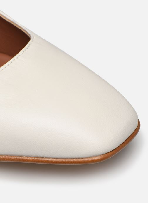 Høje hæle Made by SARENZA South Village Escarpin #4 Hvid se fra venstre
