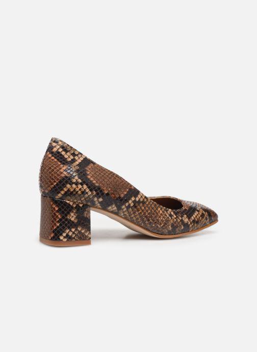Zapatos de tacón Made by SARENZA South Village Escarpin #4 Marrón vista de frente