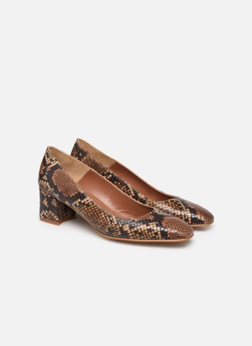 Zapatos de tacón Made by SARENZA South Village Escarpin #4 Marrón vista lateral derecha