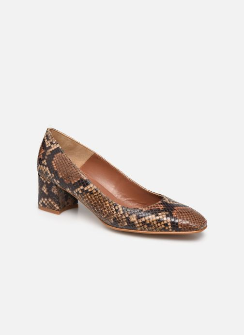 Zapatos de tacón Made by SARENZA South Village Escarpin #4 Marrón vistra trasera