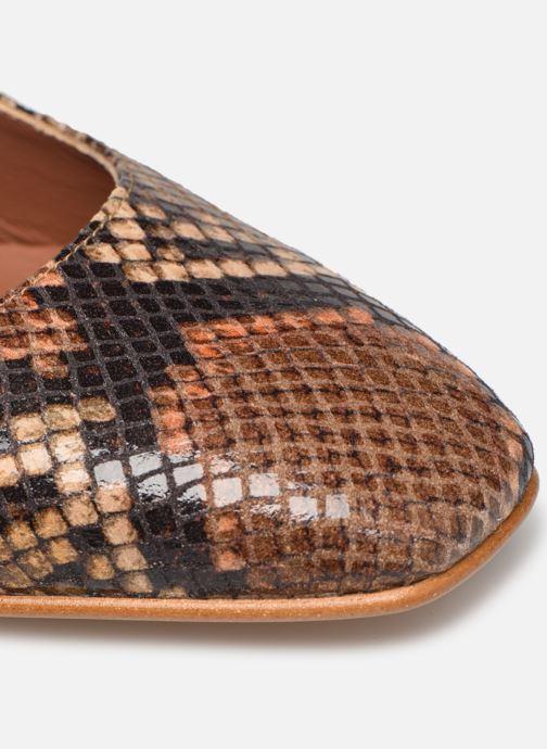 Zapatos de tacón Made by SARENZA South Village Escarpin #4 Marrón vista lateral izquierda