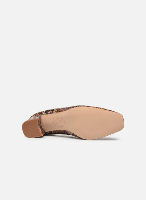 Zapatos de tacón Made by SARENZA South Village Escarpin #4 Marrón vista de arriba