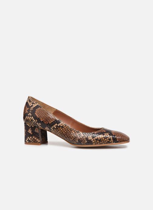 Zapatos de tacón Made by SARENZA South Village Escarpin #4 Marrón vista de detalle / par