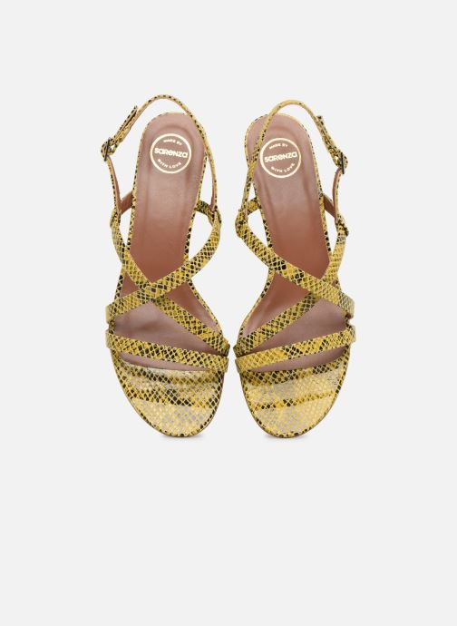 Sandalias Made by SARENZA Africa Vibes Sandales plates #1 Amarillo vista del modelo
