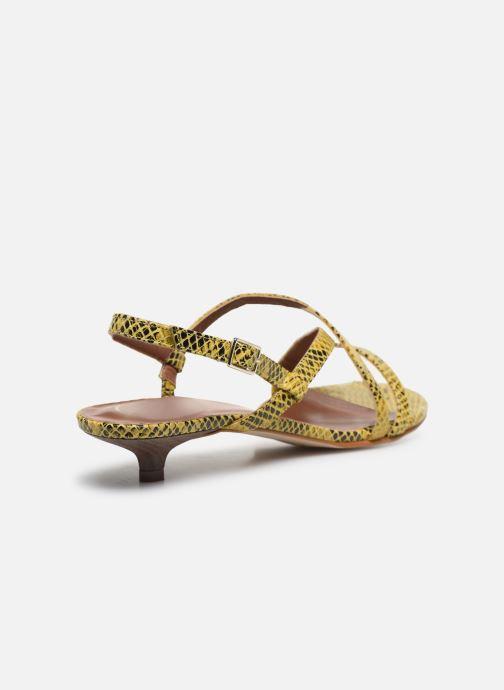 Sandales et nu-pieds Made by SARENZA Africa Vibes Sandales plates #1 Jaune vue face