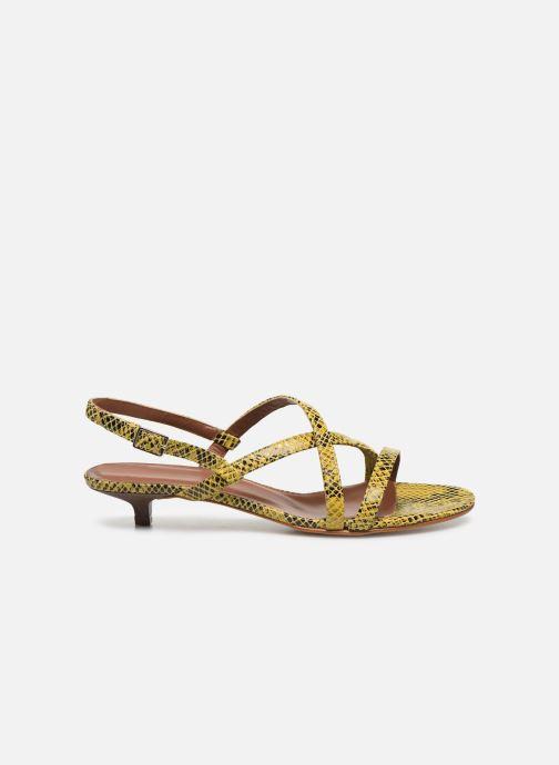 Sandales et nu-pieds Made by SARENZA Africa Vibes Sandales plates #1 Jaune vue détail/paire
