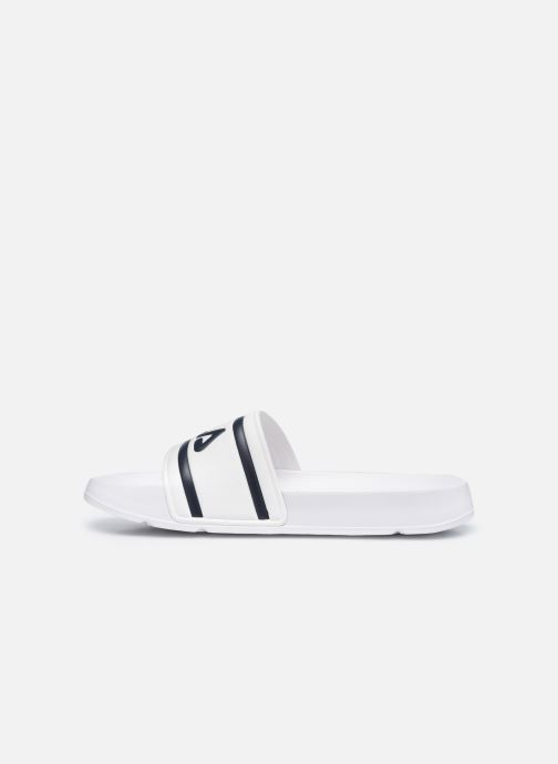 Sandales et nu-pieds FILA Morro Bay Slipper 2.0 Blanc vue face