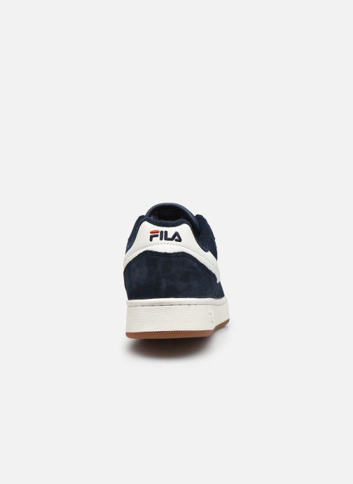Baskets FILA Arcade S Low Bleu vue droite