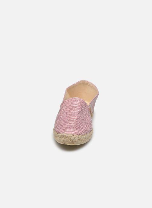 Espadrilles La maison de l'espadrille Sabline VE Argent vue portées chaussures