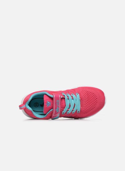 Sneaker LICO Suman VS rosa ansicht von links