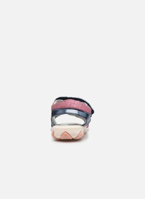 Sandales et nu-pieds Lico Lindsey V Bleu vue droite