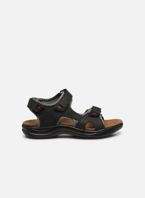 Sandali e scarpe aperte Lumberjack EARTH Nero immagine posteriore