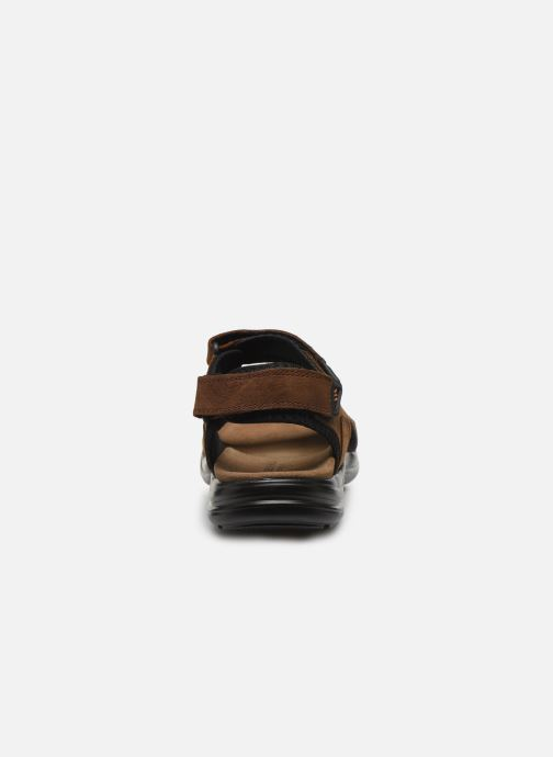 Sandali e scarpe aperte Lumberjack EARTH Marrone immagine destra