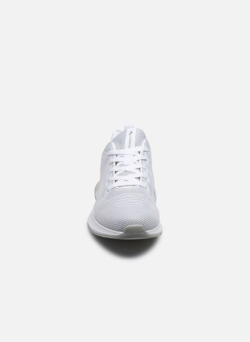 Baskets Lumberjack TEMPO Blanc vue portées chaussures