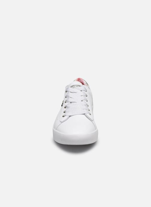 Baskets Lumberjack HAWK Blanc vue portées chaussures
