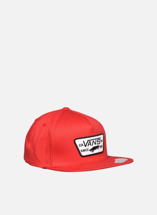 Pet Vans Casquette By Full Patch Snapback Boys Rood detail