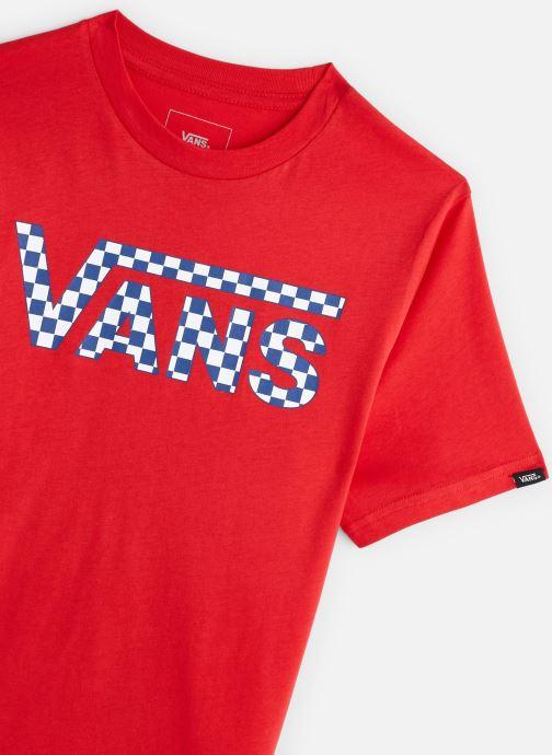 Vêtements Vans By Vans Classic Logo Fill Boys Rouge vue portées chaussures